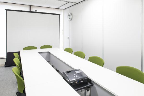 会議室Cプロジェクター設置イメージ