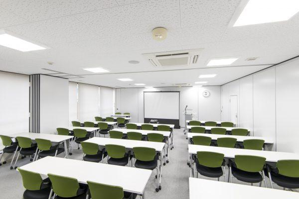 会議室Bと会議室Cを繋げて後ろから