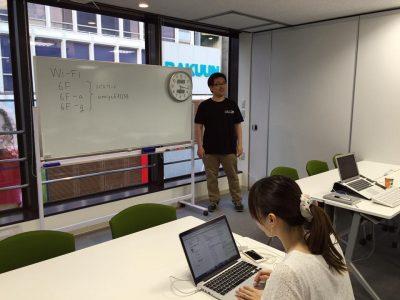 「第18回WordPressもくもく会」のイベント会場として貸会議室6Fをご利用いただきました。