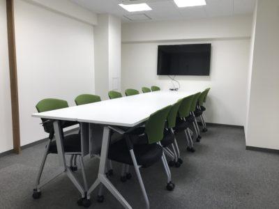会議室だけでなくレンタル教室にも利用できる8F